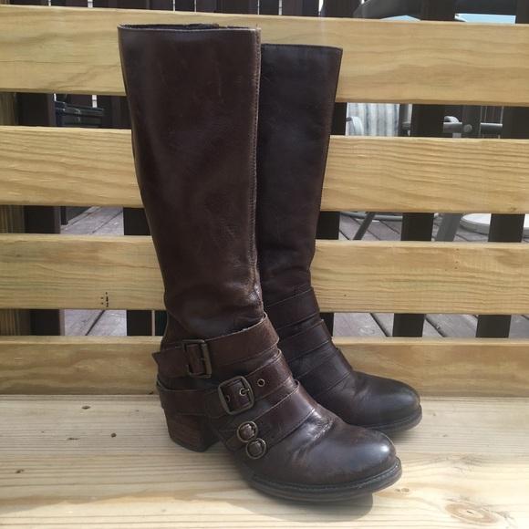 Matisse Shoes - Brown heeled matisse renegade boot